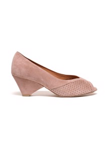 Tiffany pumps calf suede Burned rose Anonymous