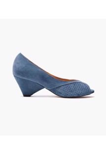 Tiffany Pumps calf suede Denim Anonymous Copenhagen