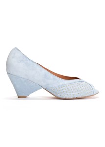 Tiffany studs Calf suede Pumps Sky Blue Anonymous Cph