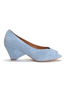 Tiffany pumps calf suede Sky Blue Anonymous Cph
