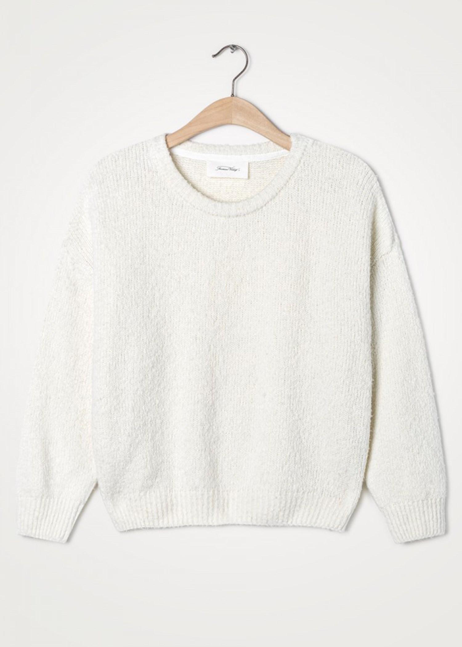Cutebay strik pullover Offwhite American Vintage