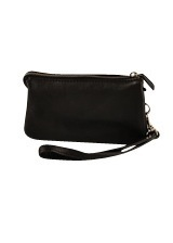B4370 DEPECHE PURSE BLACK