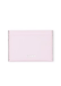 Leather A2767 card holder Rosa Ganni