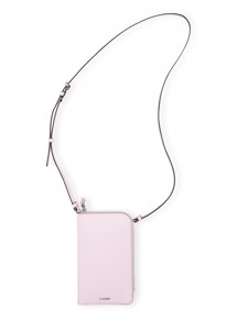 Leather A2772 phone taske Rosa Ganni