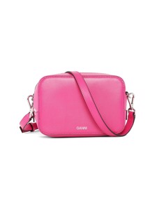Textured Leather A2169 taske Pink Ganni