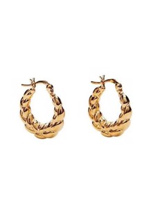 Everly hoops Guld Pico