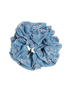 Flower scrunchie Lyseblå Pico