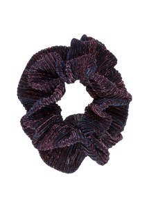 Metallic flæse scrunchie Multi Pico
