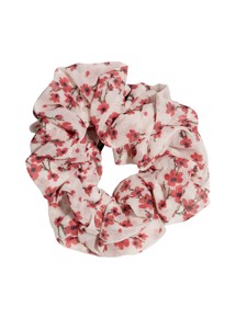 Flower scrunchie Rød Pico