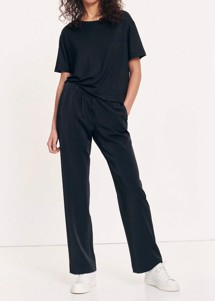 Hoys straight pant 7331 Sort Samsøe