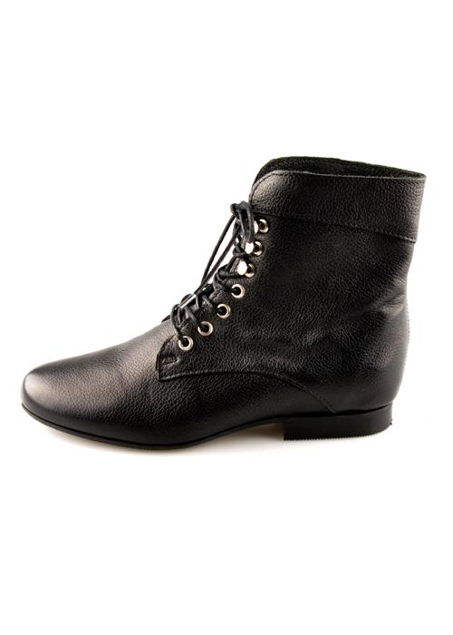 0b364f5c04d HB1400 Sort Shoe Biz ankelstøvle med snøre