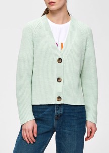 Bandani cardigan Mint Selected Femme