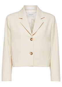Hyme short blazer Offwhite Selected Femme