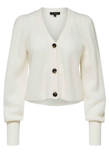Iva cardigan Snow White Selected Femme