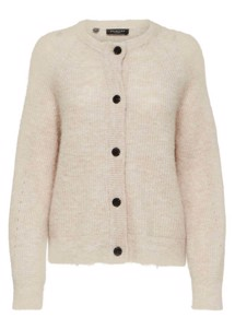 Lulu cardigan Off Mel Selected Femme