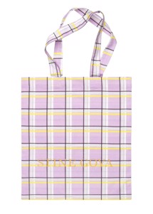 Rita tote bag Check Stine Goya