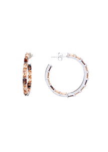 Ujas triple hoops champagne Sui Ava